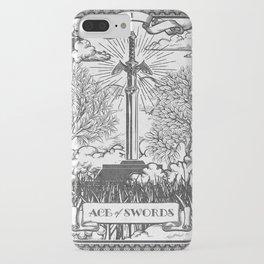 Legend of Zelda Master Sword Vintage Tarot Scene iPhone Case