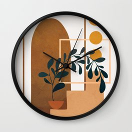 Modern Abstract Art 50 Wall Clock