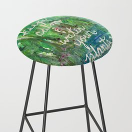 Keep Calm & Water Your Plants Bar Stool
