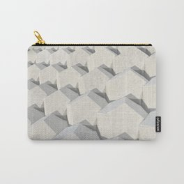 Pattern of concret hexagonal elements Carry-All Pouch
