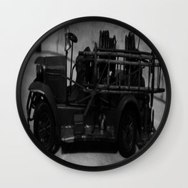 Lost Cars Eight Wall Clock