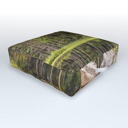 Quiet Forest lake Outdoor Floor Cushion