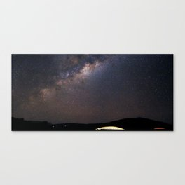 Milky Way in Chile Canvas Print