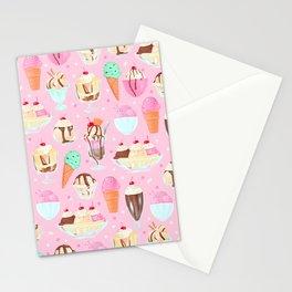 Ice-cream Fun Stationery Cards