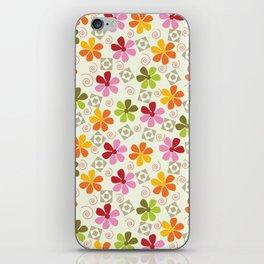 Flowers Pattern                       iPhone Skin