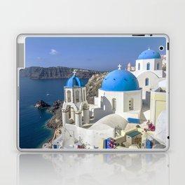 Santorini, Oia Village, Greece Laptop & iPad Skin