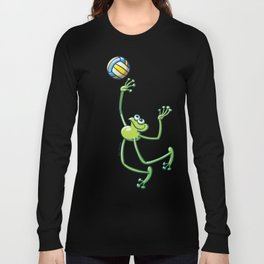 Olympic Volleyball Frog Long Sleeve T-shirt