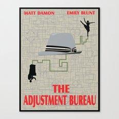 The Adjustment Bureau Canvas Print