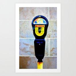 Donation Meter Art Print