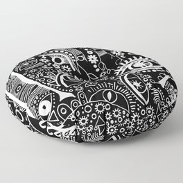"""The Watching Willow"" Floor Pillow"