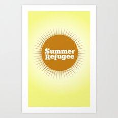 Summer Refugee Art Print