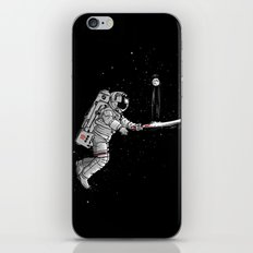 Space cricket iPhone & iPod Skin