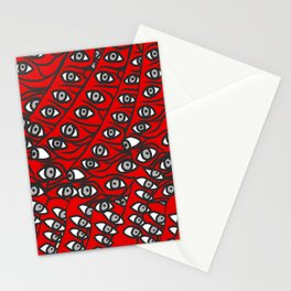 Freddie Eyeballs Red Stationery Cards