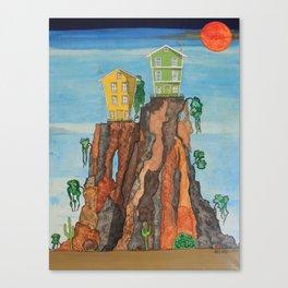 Hillhouse Canvas Print