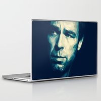 allison argent Laptop & iPad Skins featuring Chris Argent by Finduilas
