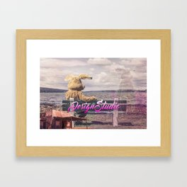 Design Studio Framed Art Print