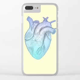 Cold Hearted Clear iPhone Case