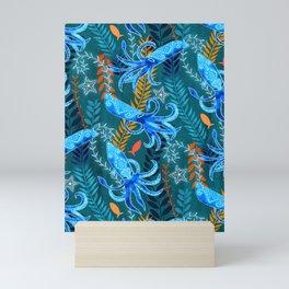 Sparkling Firefly Squid  Mini Art Print