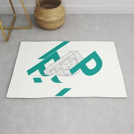 Exploded P Rug