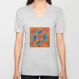Dragondala Fall Unisex V-Neck