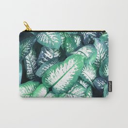 Dumb Cane Foliage Carry-All Pouch