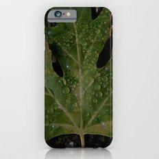 rainy leaf iPhone 6s Slim Case
