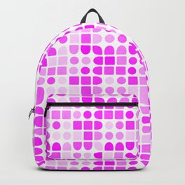series in pink C Backpack