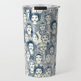 WOMEN OF THE WORLD BLUE Travel Mug