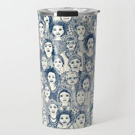WOMEN OF THE WORLD BLUE Travel Mug