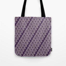 Purple drops Tote Bag