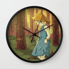 Escapades 001 Wall Clock