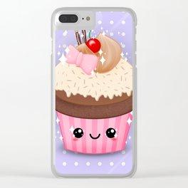 Cutie Cake Alternate Clear iPhone Case