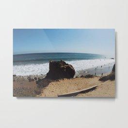 Malibu Metal Print
