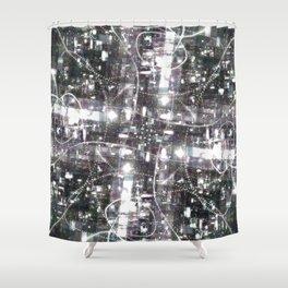 Disco Light Shower Curtain