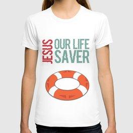 Jesus Our Life Saver T-shirt