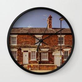 Street in Stratford Upon Avon England Wall Clock