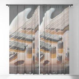 Music is Real Magic Sheer Curtain