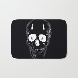 Devil Skull Bath Mat