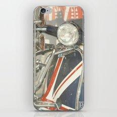 British Vespa - London Photography iPhone & iPod Skin