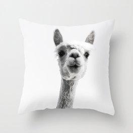 alpaca #society6 #decor #buyart Throw Pillow
