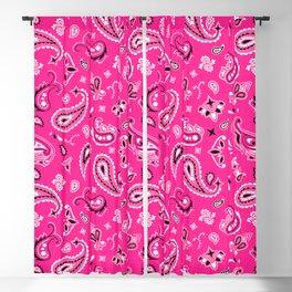 Pink Bandana Blackout Curtain