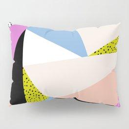 80s Retro Geometric Pattern 5 Pillow Sham