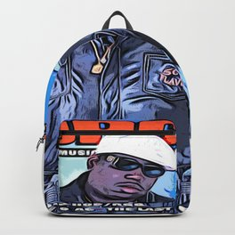 The source cover number 70 The Notorious B.I.G. Backpack