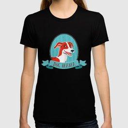 Dog Mama - Greyhound Design T-shirt