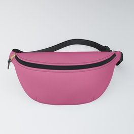 Pink Yarrow | Pantone Fashion Color Spring : Summer 2017 | Solid Color | Fanny Pack