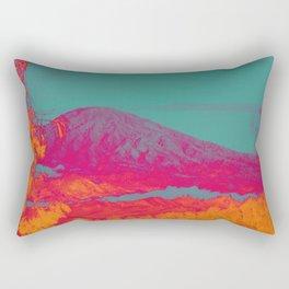 Acid & Energy Landscape Rectangular Pillow
