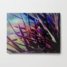 Crystallize-photo montage Metal Print