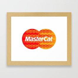Mastercat Framed Art Print