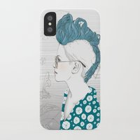 punk iPhone & iPod Cases featuring Punk by katiwo