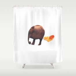 oops Shower Curtain